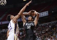 NBA 夏季总决赛 : 开拓者 91-73 击败湖人夺总冠
