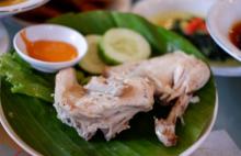 巴东菜白切鸡含有健康功效的各种材料