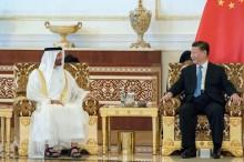 外媒 : 习近平对阿联酋阿布扎比展开访问