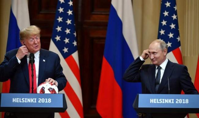 特朗普邀请普京访问华盛顿