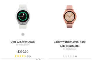 外媒 : 三星官网意外曝光 Galaxy Watch