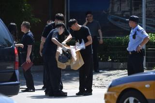 美驻华大使馆发生爆炸袭击      一名内蒙古男子引爆炸弹