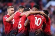 英超 : 曼联 2-1 莱斯特城开门红