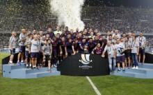 欧足联赛 13 日综述  : 巴萨夺西超杯      拜仁夺德超杯     英超利物浦击败
