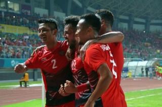 亚运会男足小组赛 :  印尼今晚将迎战巴勒斯坦