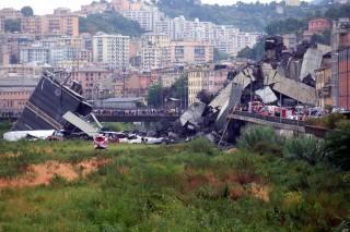意大利热那亚发生路桥坍塌致 35 人遇难