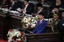 佐科威人协年会演讲 : 巴勒斯坦成为印尼加入联合国安理会首要任务