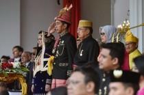 佐科威主持印尼建立 73 周年庆祝仪式