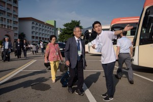 外媒 : 韩朝离散家属今起团聚