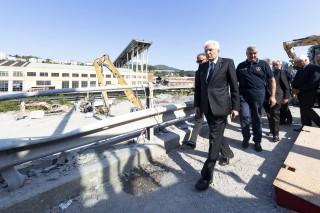 意大利热那亚路桥坍塌事故  : 建筑师 40 年前提醒腐蚀风险