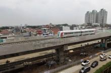 雅加达市内六个轻轨捷运站将进行测试