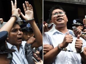 联合国秘书长呼吁缅甸释放两名路透社记者       加拿大敦促缅甸接受审判