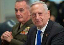 特朗普暗示国防部长马蒂斯可能会离开