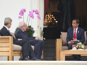 佐科威接见来访巴勒斯坦外长         感激印尼积极争取巴方独立