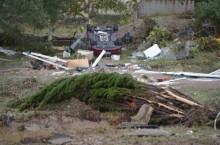 法国西南部暴雨引发洪水事件造成 13 死