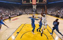 NBA 常规赛启幕 :  76人不敌凯尔特人     勇士击败雷霆