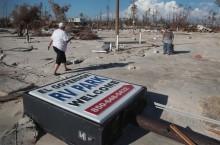 """飓风 """"迈克尔"""" 导致美国佛州超过 1000 人失踪"""