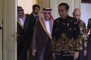 佐科威接见来访沙特外长    双方谈沙特记者卡舒吉被杀害事件