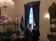 印尼外长接见沙特外长    :  我国呼吁查明卡舒吉遇害案真相