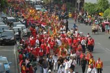 雅加达举办神诞辰游行活动    体现国内宗教文化多元性