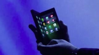 三星展示可折叠屏手机   将其称 Infinity Flex Display