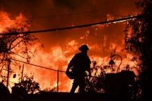 美加州火灾已致 40 余死       外媒称当局被指未全面发避难警报