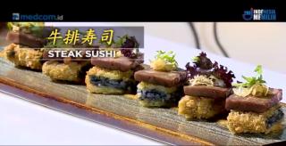 学会制作好吃牛排寿司