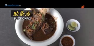 国内美食系列 : 制作美味望加锡美食肋条汤