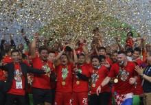 雅加达足球队赢得 2018 年印尼足球甲级联赛冠军