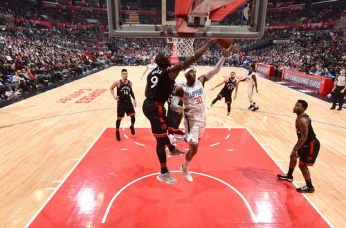NBA 常规赛 12 日综述 : 猛龙  123-99 击败快船