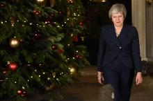 特雷莎·梅不信任投票过关    保住英首相之位