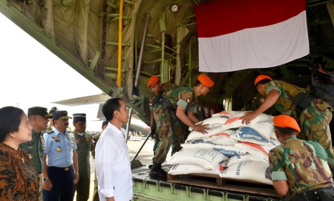 Indonesia provides assistance to Rohingya refugees