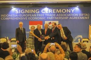 待近 8 年我国与 EFTA 签署了经贸合作协议