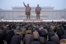 朝鲜纪念金正日逝世 7 周年