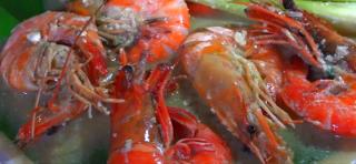印尼美食系列 :   学会制作巴厘式竹烤虾