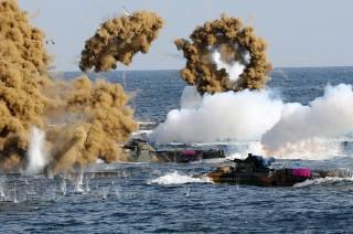 朝媒呼吁韩国叫停联合军演
