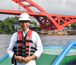 佐科威 : 今年要建 1850 公里高速路