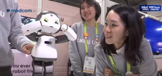 家庭使用机器人 CES 上亮相