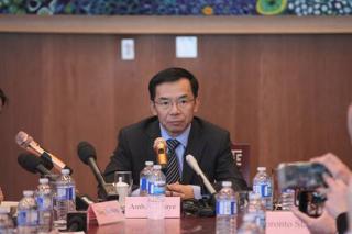 中国驻加拿大大使驳回中方逮捕加公民和孟晚舟事件有关的指责