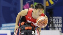 深知印尼轮椅篮球协会创始人和队长 Donald Santoso