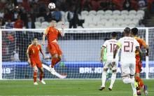 亚洲杯 1/4 决赛   :   伊朗日本晋级4强