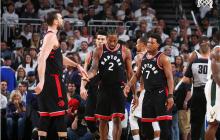 NBA东决 :  雄鹿 108-100 猛龙拿下首战