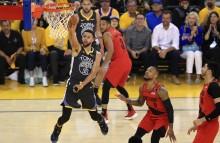 NBA 西决 :  开拓者 111-114 勇士