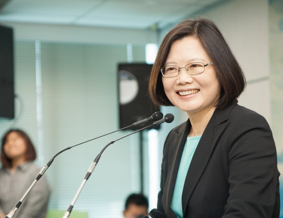 Taiwan leader, Tsai Ying-wen