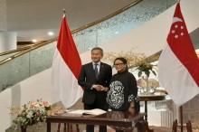 印尼-新加坡外长会晤    就飞行情报区问题交换意见