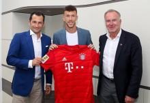 外媒 : 佩里西奇租借加盟拜仁