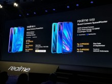 realme 5 和 5 Pro 在印尼正式上市