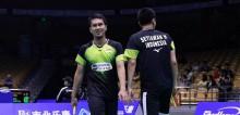 中国羽毛球公开赛 : 印尼男双都进入半决赛