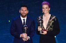 FIFA 最佳男足球员出炉  :    梅西王者归来