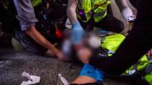 报导香港抗议遭橡皮子弹击印尼女记者病情已稳定